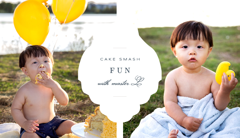 Brisbane Child Cake Smash Family Baby Newborn Photographer